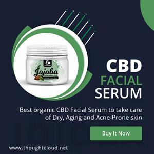 CBD topicals, CBD for skin, Facial serum